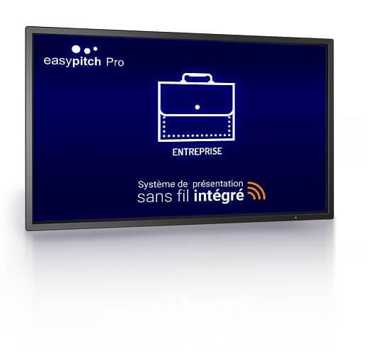 EASYPITCH PRO 4K DE 65'' SYSTÈME BYOD WINDOWS