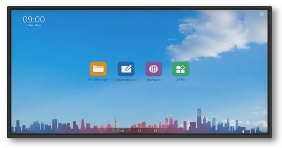 "Ecran Android Easypitch Advance 4k 86"""
