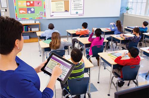 L'application MimioMobile permet aux professeurs de surveiller le travail de leurs élèves