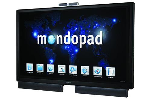 Le MondoPad d'InFocus, l'écran interactif connecté conçu pour les réunions d'entreprise