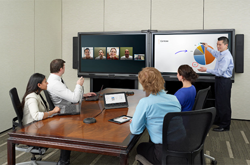 L'outil SMART Room System permet d'améliorer vos réunions en facilitant la communication