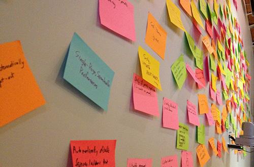 La prise de notes est indispensables en séance de brainstorming