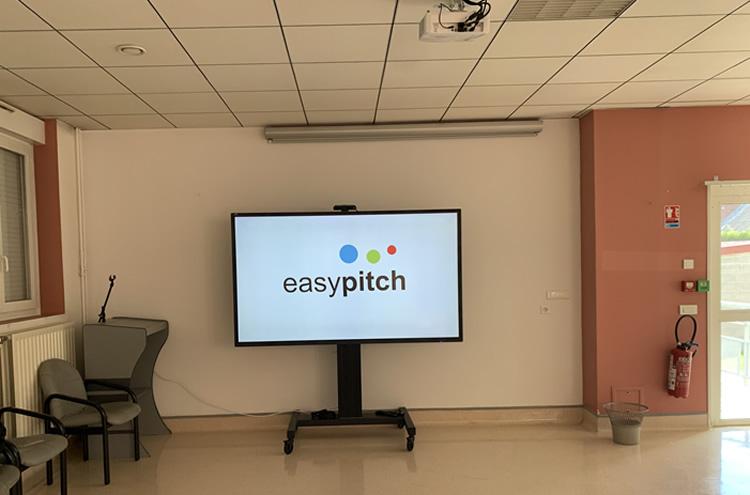écran interactif en milieu hospitalier