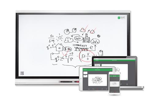 L'écran interactif tactile peut fonctionner sans ordinateur externe connecté