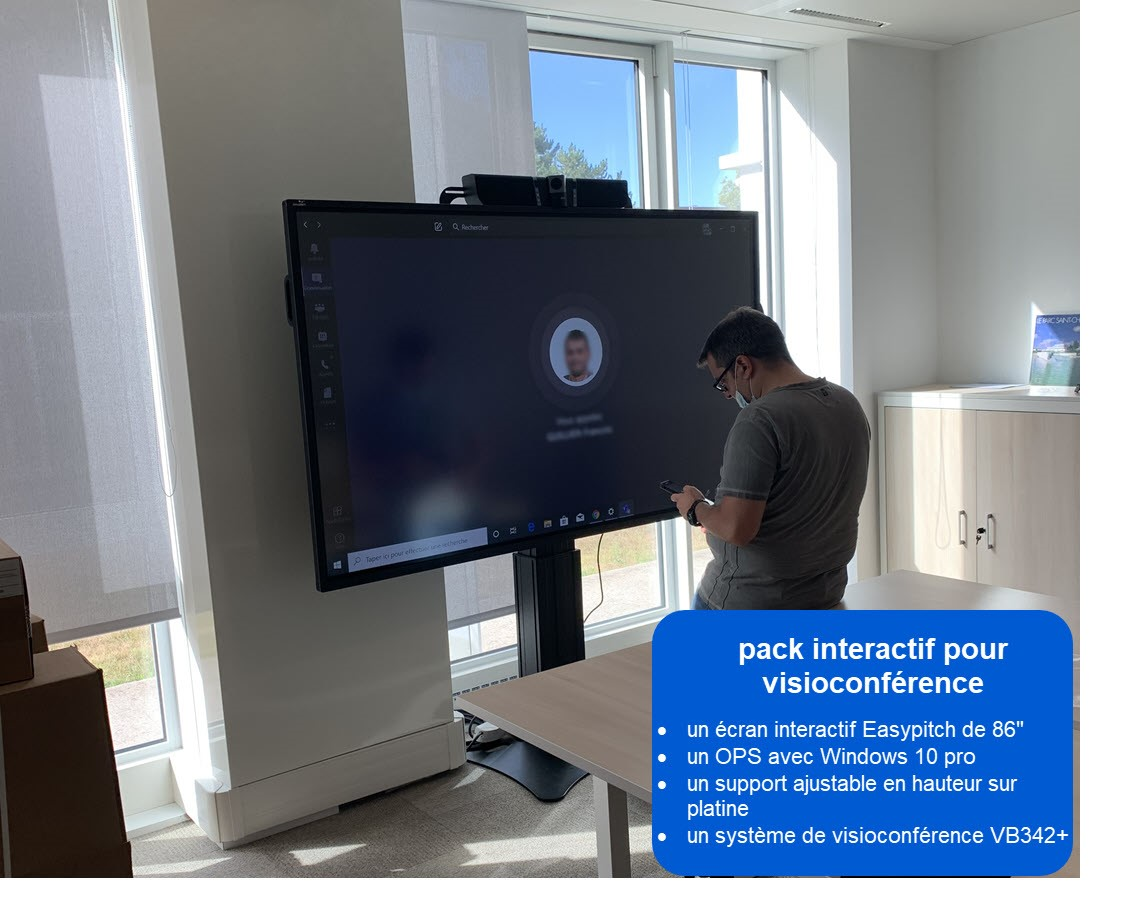 ecran interactif spie oil & gas